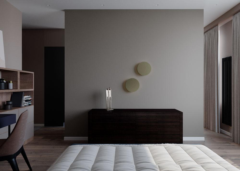 Функциональный декор на стене на самом деле - интерьерное освещение