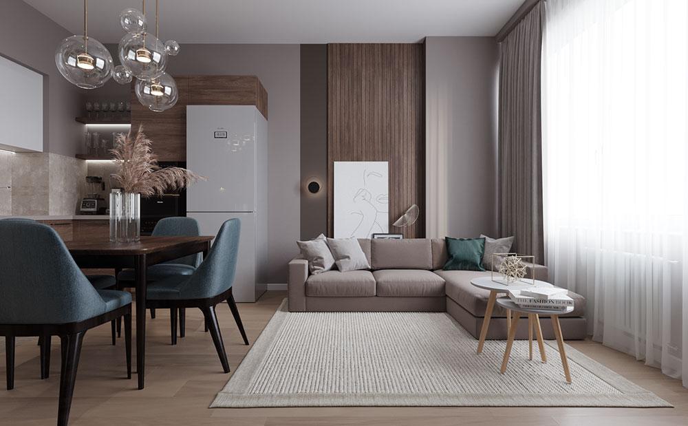 Единая концепция в стиле и цвете всего интерьера – всегда залог успешного дизайн проекта