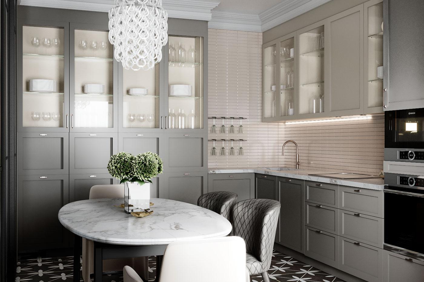 В хорошем интерьере красота и функциональность кухни не исключают друг друга