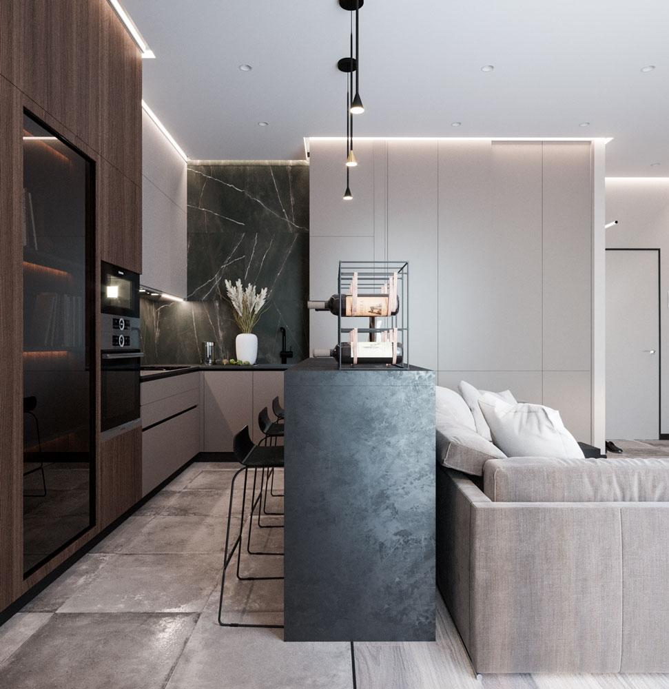 Перед нами была поставлена задача сделать квартиру  под аренду в стиле минимализм в бюджете до 2,5 млн. рублей.