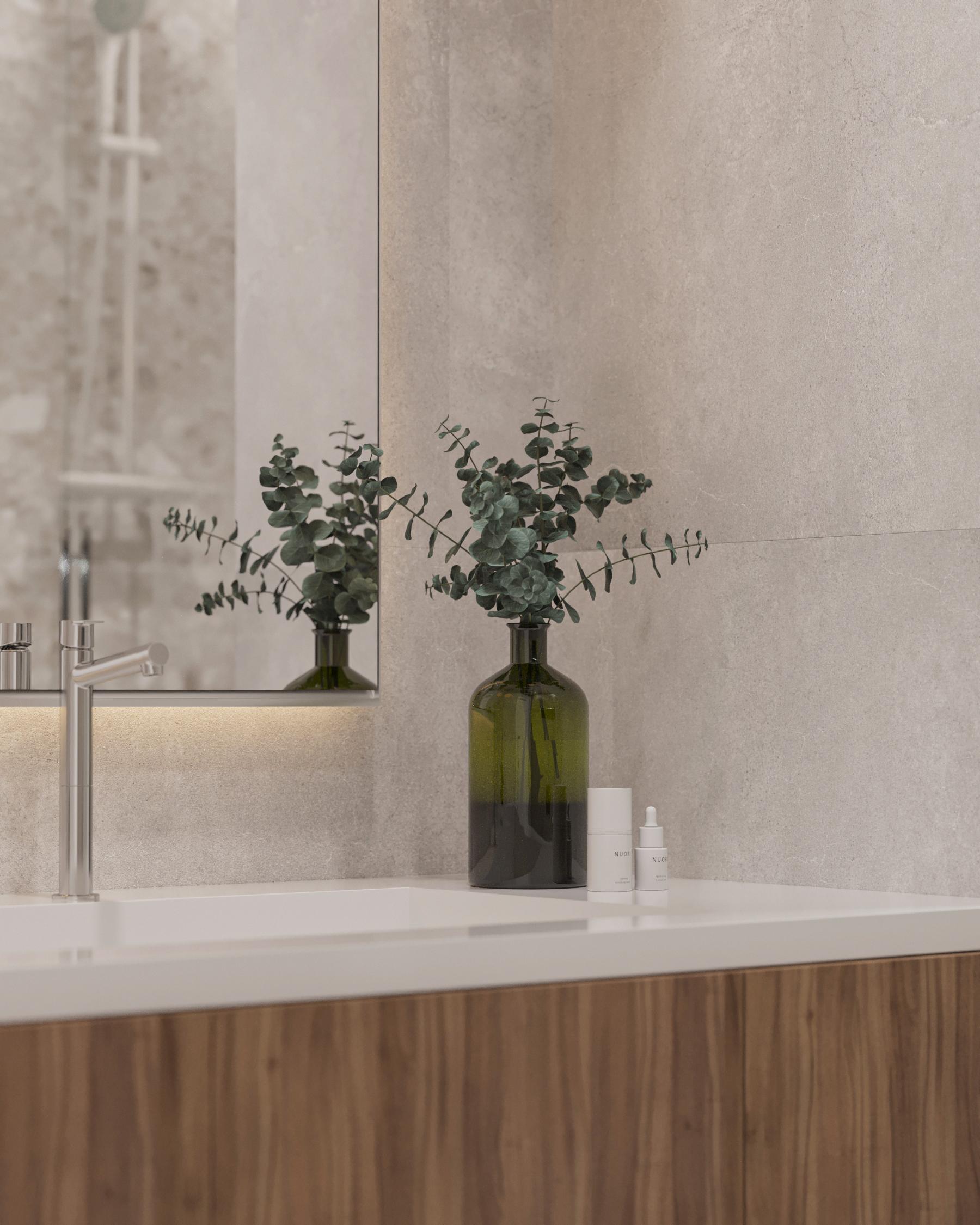 Экологичный стиль интерьера выполняется нами часто из тех же материалов, что и другие дизайн-проекты,